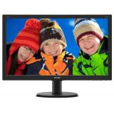 "Монитор Philips 23.8"" 240V5QDSB (00/01) черный IPS LED 16:9 DVI HDMI матовая 250cd 1920x1080 D-Sub FHD 4.09кг()"