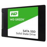 """Жесткий диск SSD 2.5"""" SATA III 240Gb WD Green (7 мм, 3D TLC, R540Mb, 1M MTTF) (WDS240G2G0A)"""