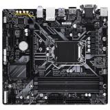 Материнская плата Gigabyte B365M DS3H (RTL) S-1151-v2 B365 4xDDR4 PCI-E x16/PCI-E x4/PCI-E x1 6xSATA III/1xM.2 PS/2/D-sub/DVI-D/HDMI/2xUSB 2.0/4xUSB 3.1G1/GLAN/3 audio jacks mATX