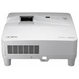 Проектор NEC UM361X (UM361XG+WM, UM361XG+WК) 3хLCD (1024x768)XGA, 3600 ANSI, 6000:1, VGA, 2xHDMI, USB(A)х2, RJ45, RS-232, настенный крепёж NP04WK, Ультракороткофокусный