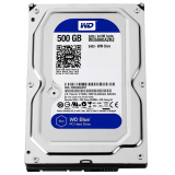 "Жесткий диск HDD 3.5"" SATA III 500Gb WD Blue 5400rpm 64Mb (WD5000AZRZ)"