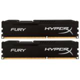 Память DIMM DDR3 PC-14900 16Gb (2x8Gb) Kingston HyperX Fury Black (HX318C10FBK2/16)