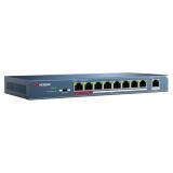 Коммутатор Hikvision DS-3E0109P-E(DS-3E0109P-E)