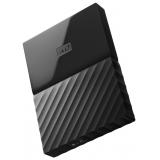 """Жесткий диск внешний 2.5"""" 1Tb WD (USB 3.0) My Passport черный (WDBBEX0010BBK-EEUE)"""