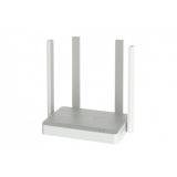 Маршрутизатор Keenetic Extra (KN-1711) 802.11ac 1200Mbps, 4x10/100 LAN, 1x10/100 WAN, 1xUSB 2.0, четыре внешние антенны 5dBi
