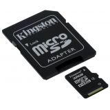 Карта памяти microSD 32Gb Kingston Class 4 с адаптером (SDC4/32GB)