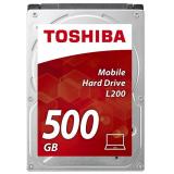 """Жесткий диск HDD 2.5"""" SATA III 500Gb Toshiba L200 5400rpm 8Mb (HDWJ105UZSVA)"""