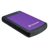 "Жесткий диск внешний 2.5"" 2Tb Transcend USB 3.0 StoreJet 25H3P (5400rpm) фиолетовый (TS2TSJ25H3P)"