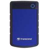 """Жесткий диск внешний 2.5"""" 1Tb Transcend StoreJet 25H3 USB 3.0 TS1TSJ25H3B синий"""