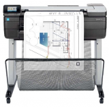 "МФУ широкоформатное струйное цветное HP DesignJet T830 (A1/24""/610 мм, принтер/сканер/копир, LAN, Wi-Fi) (F9A28A)"