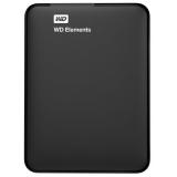 """Жесткий диск внешний 2.5"""" 2Tb WD (USB3.0) Elements Portable черный (WDBU6Y0020BBK-WESN)"""