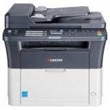 МФУ лазерное монохромное Kyocera FS-1025MFP (A4, принтер/сканер/копир, ADF, Duplex, LAN) (1102M63RU2/1102M63RUV)