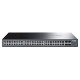 Коммутатор TP-Link T1600G-52TS (TL-SG2452) 48x10/100/1000 + 4xSFP, настраиваемый Smart