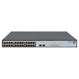 Коммутатор HPE 1420-24G-2S JH018A неуправляемый 19U 24x10/100/1000BASE-T(JH018A)