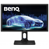 "Монитор Benq 27"" PD2700Q черный IPS LED 4ms 16:9 HDMI M/M HAS Pivot 20000000:1 350cd 178гр/178гр 2560x1440 DisplayPort QHD USB 6.9кг(9H.LF7LA.TBE)"