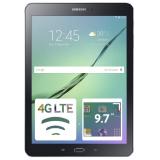 "Планшет Samsung Galaxy Tab S2 SM-T819 Snapdragon 652 (1.8) 8C/RAM3Gb/ROM32Gb 9.7"" Super AMOLED 2048x1536/3G/4G/Android 6.0/черный/8Mpix/2.1Mpix/BT/GPS/WiFi/Touch/microSD 128Gb/minUSB/5870mAh(SM-T819NZKESER)"