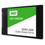 """Жесткий диск SSD 2.5"""" SATA III 120Gb WD Green (7 мм, 3D TLC, R540Mb, 1M MTTF) (WDS120G2G0A)"""
