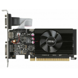 Видеоадаптер PCI-E MSI GeForce GT710 2048Mb GT 710 2GD3H LP (RTL) GDDR3 64bit D-sub/DVI-D/HDMI
