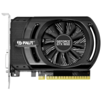 Видеоадаптер PCI-E Palit GeForce GTX1650 4096Mb PA-GTX1650 StormX OC 4G (RTL) GDDR5 128bit DVI-D/HDMI