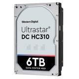"Жесткий диск HDD SAS 3.0 6Tb WD Ultrastar DC HC310 7200rpm 256Mb 3.5"" (HUS726T6TAL5204 / 0B36047)"