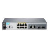 Коммутатор HP 2530-8-PoE+ 8x10/100/PoE+ + 2x1000/SFP, управляемый 2 уровня (JL070A)