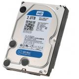 "Жесткий диск HDD 3.5"" SATA III 2Tb WD Blue 5400rpm 64Mb (WD20EZRZ)"