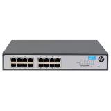 Коммутатор HPE 1420-16G JH016A неуправляемый 19U 16x10/100/1000BASE-T(JH016A)