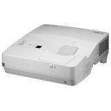 Проектор NEC UM351W (UM351WG+WM, UM351WG+WK) 3хLCD (1280x800)WXGA, 3500 ANSI, 6000:1, VGA, 2xHDMI, USB(A)х2, RJ45, RS-232, настенный крепёж NP04WK, Ультракороткофокусный