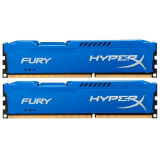 Память DIMM DDR3 PC-14900 8Gb (2x4Gb) Kingston HyperX Fury Blue (HX318C10FK2/8)