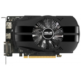 Видеоадаптер PCI-E ASUS GeForce GTX1050 2048Mb PH-GTX1050-2G (RTL) GDDR5 128bit DVI-D/HDMI/DP