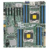 Материнская плата SuperMicro MBD-X10DRH-C-O Socket-2011 Intel C612 DDR4 eATX 2xRJ45 Gigabit Ethernet SATA3(MBD-X10DRH-C-O)