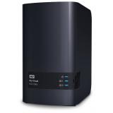 Сетевое хранилище NAS WD Original 8Tb WDBSHB0080JCH-EEUE My Cloud EX2 Ultra 2xDisk 2-bay(WDBSHB0080JCH-EEUE)