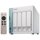 Сетевое хранилище без HDD soho QNAP TS-451+-2G NAS, 4-bay w/o HDD. HDMI-port. Intel Celeron J1900 2,0 GHz, 2GB. (TS-451+-2G)