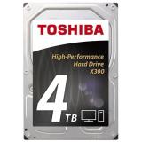 "Жесткий диск HDD 3.5"" SATA III 4Tb Toshiba X300 7200rpm 128Mb (HDWE140EZSTA)"