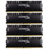 Память DIMM DDR4 PC-25600 32Gb (4x8Gb) Kingston HyperX Predator (HX432C16PB3K4/32)