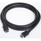 Кабель HDMI (19M/19M) 7.5 м (пакет) v2.0, экранированный, позолоченные контакты, черный (Gembird CC-HDMI4-7.5M)