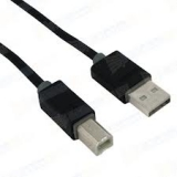 Кабель USB 2.0 AM/BM 3 м (блистер) двойное экранирование, черный (Prolink PB466-0300)