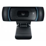 Камера Logitech HD Webcam B910 1280x720x30fps, стеклянные линзы, микрофон (960-000684)