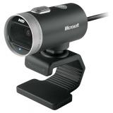 Камера Microsoft LifeCam Cinema 1280x720x30fps, стеклянные линзы, микрофон (H5D-00015)
