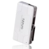 Кардридер USB GINZZU GR-422В 2-in-1 (2xSD, 2xmicroSD), черный