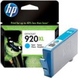 Картридж HP DJ CD972AE N:920XL для HP OfficeJet 6000/6500/7000/7100 cyan