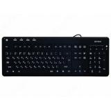 Клавиатура A4TECH KD-126-2 USB с подсветкой (черная)