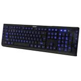 Клавиатура A4TECH KD-600L USB с подсветкой (черная).
