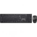 Клавиатура + мышь Defender Harvard C-945 Nano беспроводной набор черный (45945)