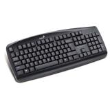 Клавиатура Genius KB-110X USB black, color box.