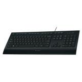 Клавиатура Logitech K280E Corded Keyboard черная USB (920-005215)