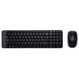 Клавиатура + мышь Logitech MK-220 Wireless Desktop (беспр.клав+беспр.мышь) (920-003169)