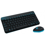 Клавиатура + мышь Logitech MK-240 Wireless Nano белый+красный рисунок (беспр.клав+беспр.мышь) (920-008212)