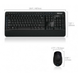 Клавиатура Microsoft Wireless Desktop 3000 + мышь USB (MFC-00019) RTL