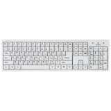 Клавиатура Sven Standard 303 белая USB (SV-03100303UW)